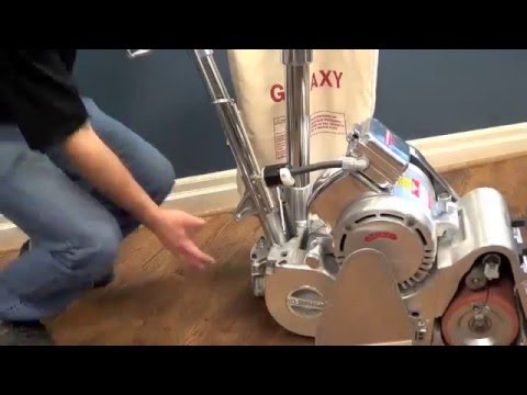 Galaxy Floor Sanding Machines: Chassis