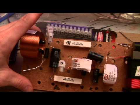 Loud Speaker Build crossover design
