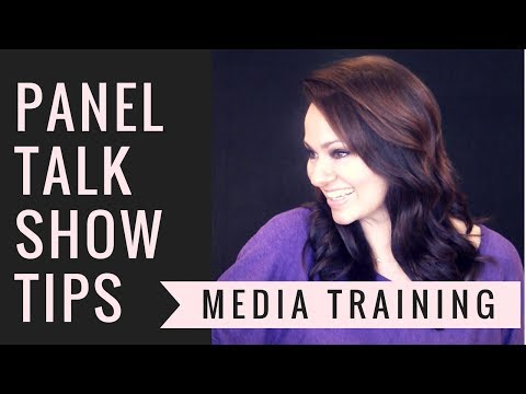 Panel Talk Show Tips-How To Be A TV Host