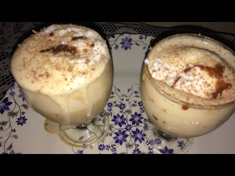 Cold coffee with vanilla ice cream | quick cold coffee