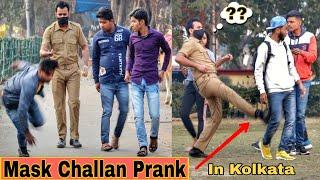 Mask Ka Challan Prank In Kolkata   Pranks In India 2021  By The Crazy Infinity
