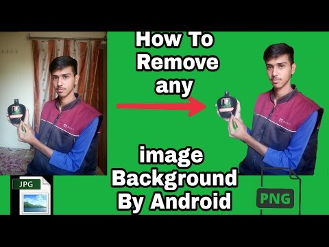 How To Remove any images Background By Android mobile || jpg to Png