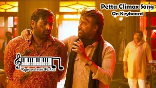 Petta Climax Theme On Keyboard | How to play | Tutorial | Perfect Piano