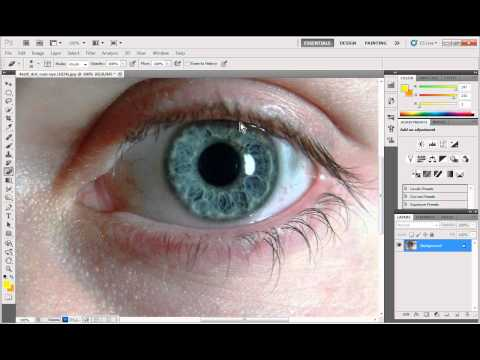 ADOBE PHOTOSHOP HOW TO CHANGE HAIR & EYE COLOR!!.avi