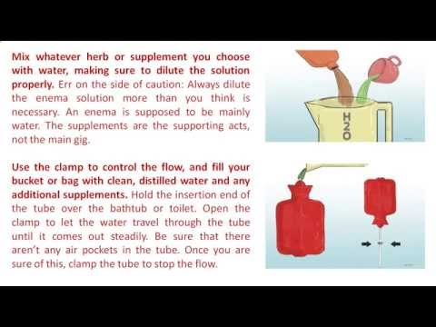 Constipation - Perform Enema at Home Step by Step