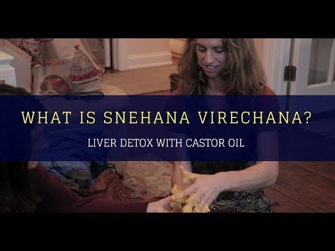 Liver detox with castor oil