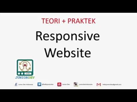 Membuat Desain Web Responsive dengan HTML dan CSS   Tutorial HTML (part 11)