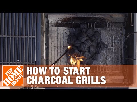 How to Start a Charcoal Grill