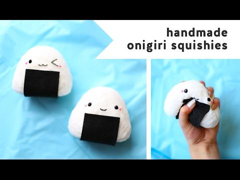 DIY Kawaii Onigiri Sushi Squishy! 🍙