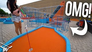 I HAVE NEVER SEEN A MINI GOLF HOLE DO THIS!!!