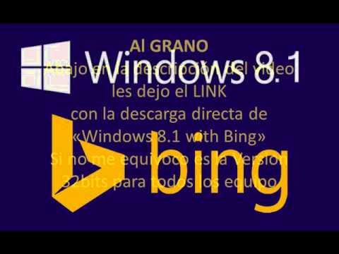 Windows 8.1 with bing - Link descarga Directa