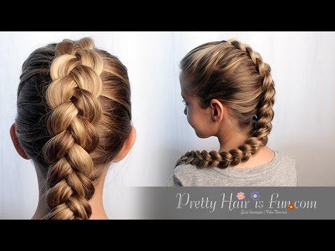 HOW TO DUTCH BRAID HAIR TUTORIAL!! 🙌🙌❤