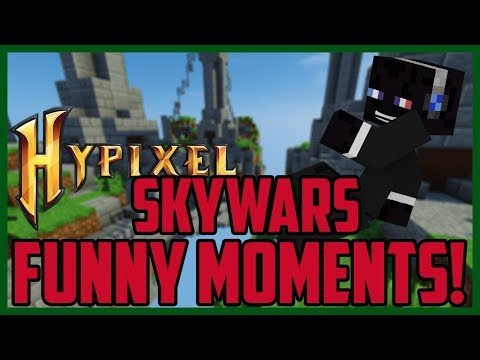 Minecraft SkyWars Funny Moments #7 (Hypixel Minecraft SkyWars Funny Moments)
