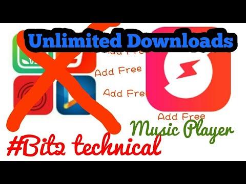 Full add free music player online and unlimited downloads free Ganna,wync,savan