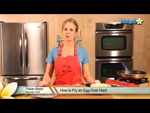 How to Fry an Egg Over Hard