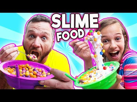 SLIME FOOD vs REAL FOOD CHALLENGE! Learn how to make slime look like food DIY! Kid vs Adult