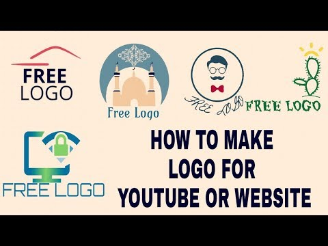 how to make logo for youtube