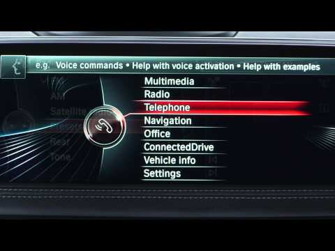 Access Help with the BMW Voice Command System | BMW Genius How-To
