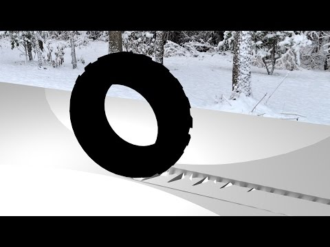 Maya tutorial : How to create Tire tracks in the snow ( dirt etc )
