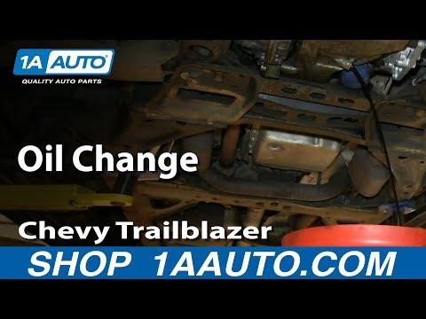 How To Do an Oil Change 2002-09 v8 GMC Envoy Chevy Trailblazer