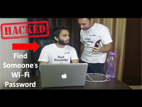 How To Get Someones WiFi PASSWORD? Hack Friends Wi Fi 100% working 2016