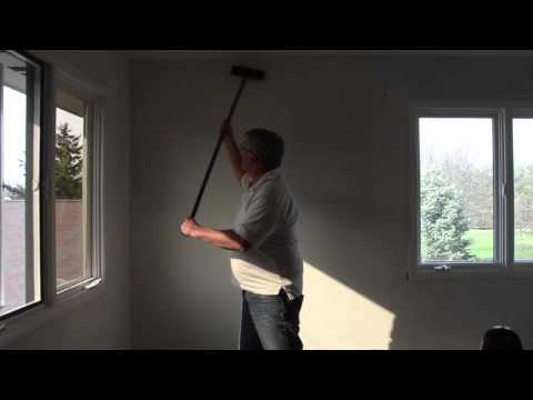 Easy way to remove wallpaper glue