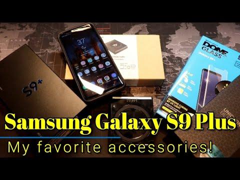 Samsung Galaxy S9 Plus: My favorite accessories !