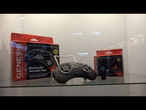Retrobit Sega Genesis, Dreamcast, & Saturn controllers from CES 2018
