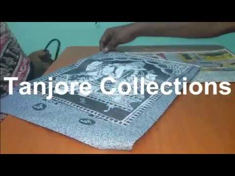 DIY Tanjore Paintings Muck boards - Learn Tanjore painting by seeing this video.