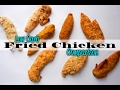 Low Carb Fried Chicken Taste Test | What's the Best Keto Fried Chicken Breading?