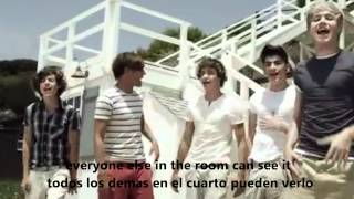 one direction - what makes you beautiful subtitulado español, ingles