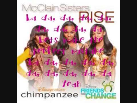 The Mcclain Sisters - Perfect Mistake - Lyrics