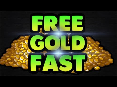 HOW TO GET FREE GOLD FAST (Wizard101)