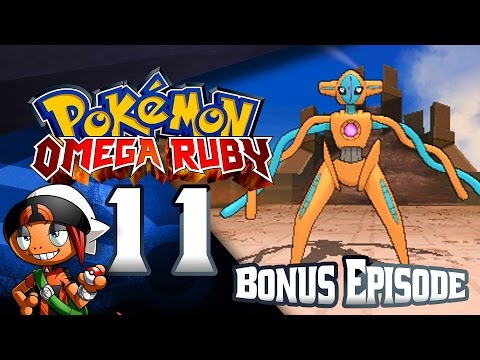 Pokémon Omega Ruby Deoxys Rematch & Other Forms!! (Bonus Ep 11)