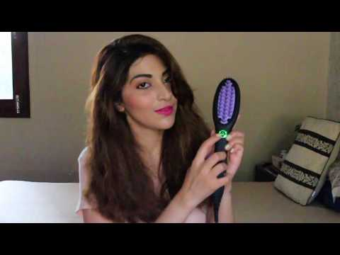 How To Get Super Smooth and Straight Hair with Dafni Go Brush!