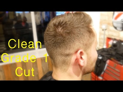 HIGH & TIGHT SHORT BACK AND SIDES BARBER HOW TO...