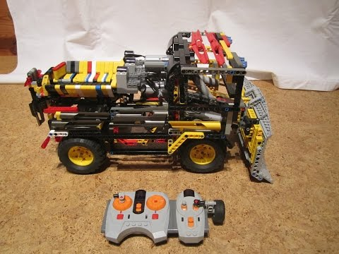 LEGO Technic Snowplow with Salt Spreader 4WD