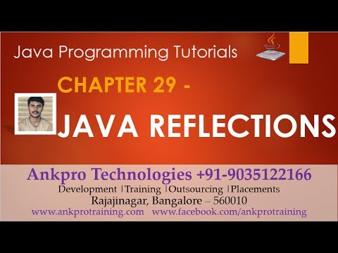 Java for beginners - Chapter 29 : Reflections in Java   What is reflection in Java?