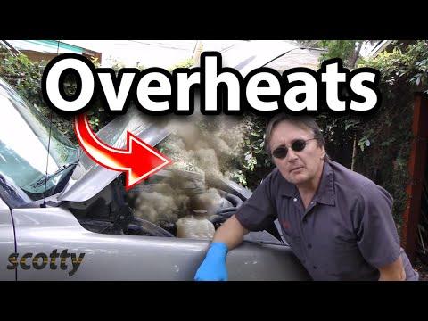 How to Fix Car that Overheats in Traffic (Fan Clutch)