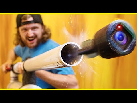 GoPro in a Cannon!