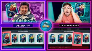 Batalha FUT DRAFT só com CARTAS TOTS!! FIFA 20 c/ Lucas Cordeiro