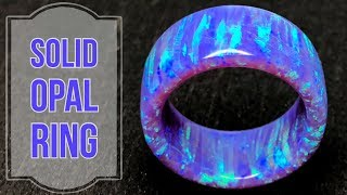 Creating a Solid Purple Bello Opal Ring (GIVEAWAY)