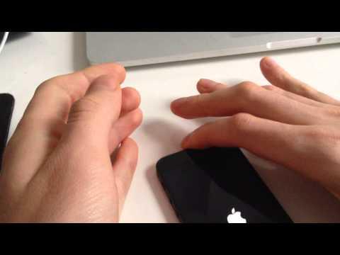 Unlocking ATT iPhone with R-sim mini for T-mobile.