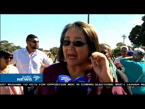 Patricia de Lille calm ahead of her disciplinary hearing