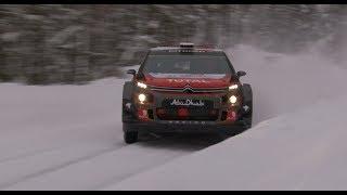 Østberg / Eriksen Rally Sweden Testing 2018 - Motorsportfilmer.net