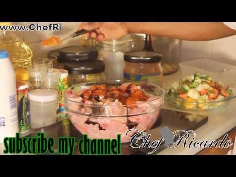 How To Season Brown Stew Chicken Caribbean Recipe Videos | Recipes By Chef Ricardo