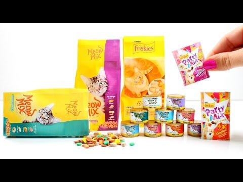 DIY American Girl Cat Food