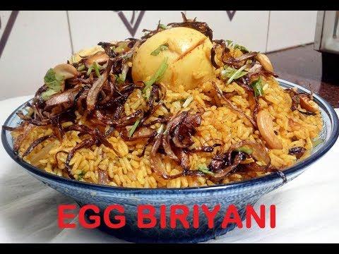 easy egg biriyani in pressure cooker (Malayalam)