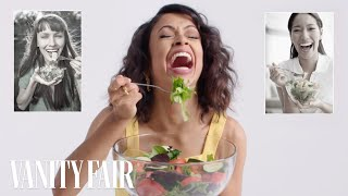 Liza Koshy Re-Creates Stock Photos | Vanity Fair