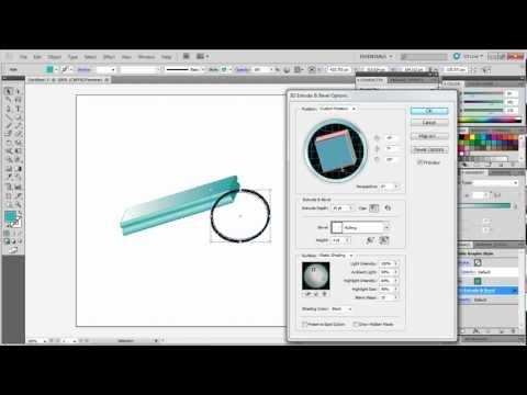 How to Make 3D Designs in Adobe Illustrator
